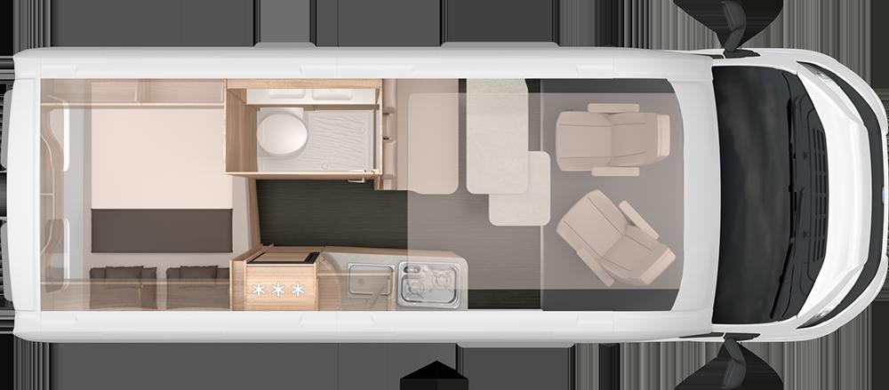z.B. Knaus BOXSTAR 600 Solution <br /> Modell 2021